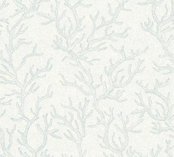 Versace Designer Baroque Non-Woven Wallpaper Les Etoiles de la Mer 344972 Blue - Design Wallpaper - High Quality
