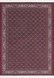 Casa Padrino luxury carpet with fringes red - Various Sizes - Deco Accessories