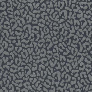 Casa Padrino Barock Textiltapete Anthrazit / Grau 10,05 x 0,53 m - Wohnzimmer Tapete - Deko Accessoires