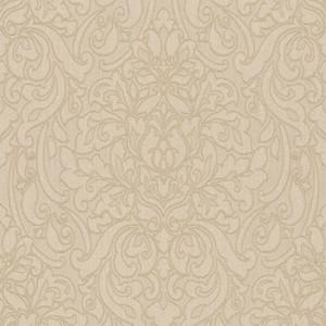 Casa Padrino Barock Textiltapete Beige / Braun 10,05 x 0,53 m - Deko Accessoires