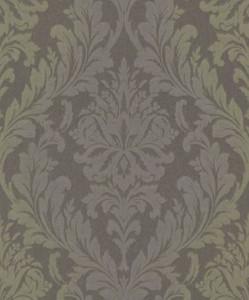 Casa Padrino Barock Textiltapete Grau / Grün / Lila 10,05 x ...