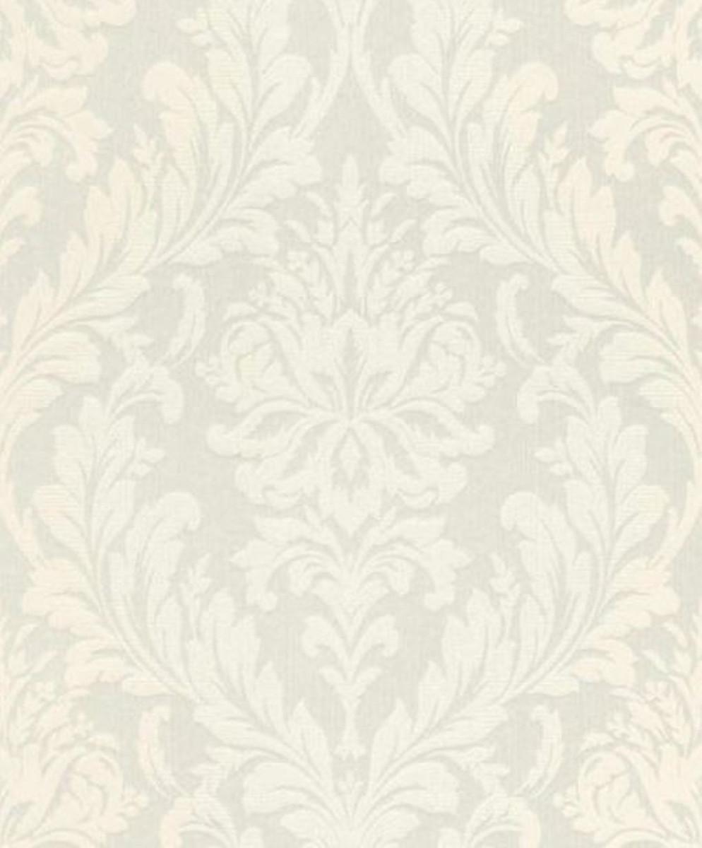 Casa Padrino Barock Textiltapete Weiß 10,05 x 0,53 m ...