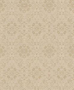 Casa Padrino baroque wallpaper beige / gold 10.05 x 0.53 m - Textile Wallpaper in Baroque Style