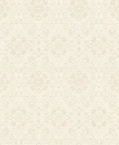 Casa Padrino baroque wallpaper cream / beige 10.05 x 0.53 m - Textile Wallpaper in Baroque Style