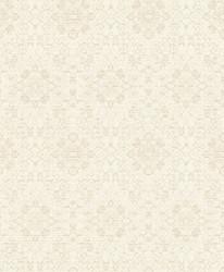 Casa Padrino baroque wallpaper cream / beige 10.05 x 0.53 m - Textile Wallpaper in Baroque Style 1