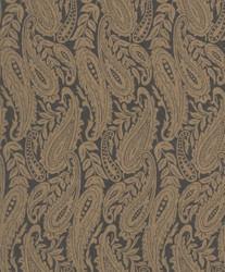 Casa Padrino baroque living room wallpaper gray / gold 10.05 x 0.53 m - High Quality Textile Wallpaper 1