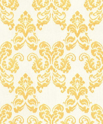 Casa Padrino baroque textile wallpaper white / gold 10.05 x 0.53 m - Decoration Accessories in Baroque Style 1