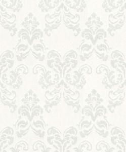 Casa Padrino baroque textile wallpaper cream / gray 10.05 x 0.53 m - Decoration Accessories in Baroque Style