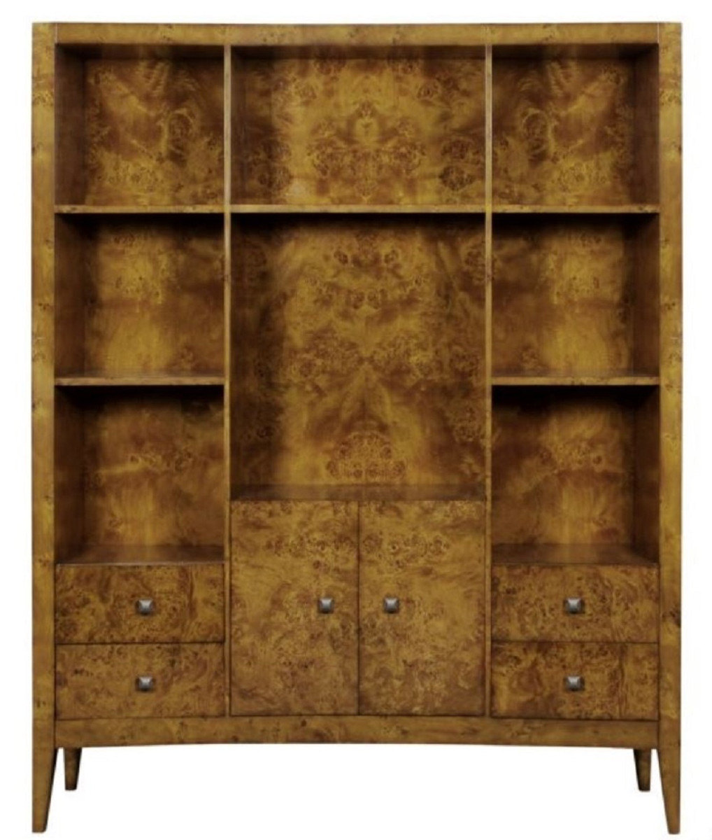 Casa Padrino Luxury Bookcase With 2 Doors And 4 Drawers