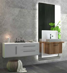 Casa Padrino Luxus Badezimmer Set Braun / Weiß - 1 ...