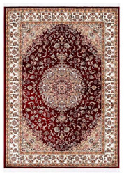 Casa Padrino Carpet with Oriental Ornaments Red / Multicolor - Various Sizes - Living Room Carpet