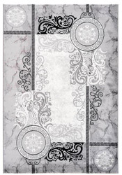 Casa Padrino Living Room Carpet Silver - Various Sizes - Decoration Accessories