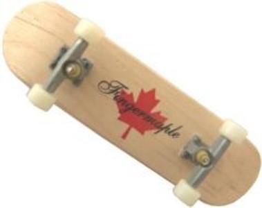 Fingermaple Fingerboard made of real wood – Bild 4