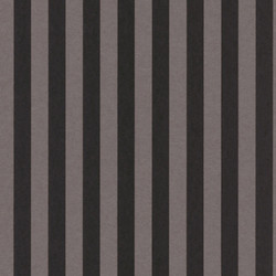 Casa Padrino Barock Textiltapete Schwarz / Grau 10,05 x 0,53 m - Barock Tapete mit Streifen