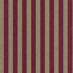 Casa Padrino Barock Textiltapete Rot / Gold 10,05 x 0,53 m - Barock Tapete mit Streifen