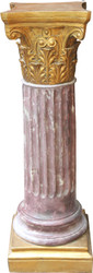 Casa Padrino Baroque Column Gold 82.5 x 28 cm - Antique style column