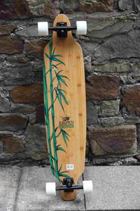 Krown Longboard Komplettboard Skateboard Exotic Freestyle 41 x 9.25 inch - Lagerware mit leichten Kratzern