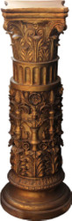 Casa Padrino Baroque Column Gold 103 x 37 cm - Antique style column