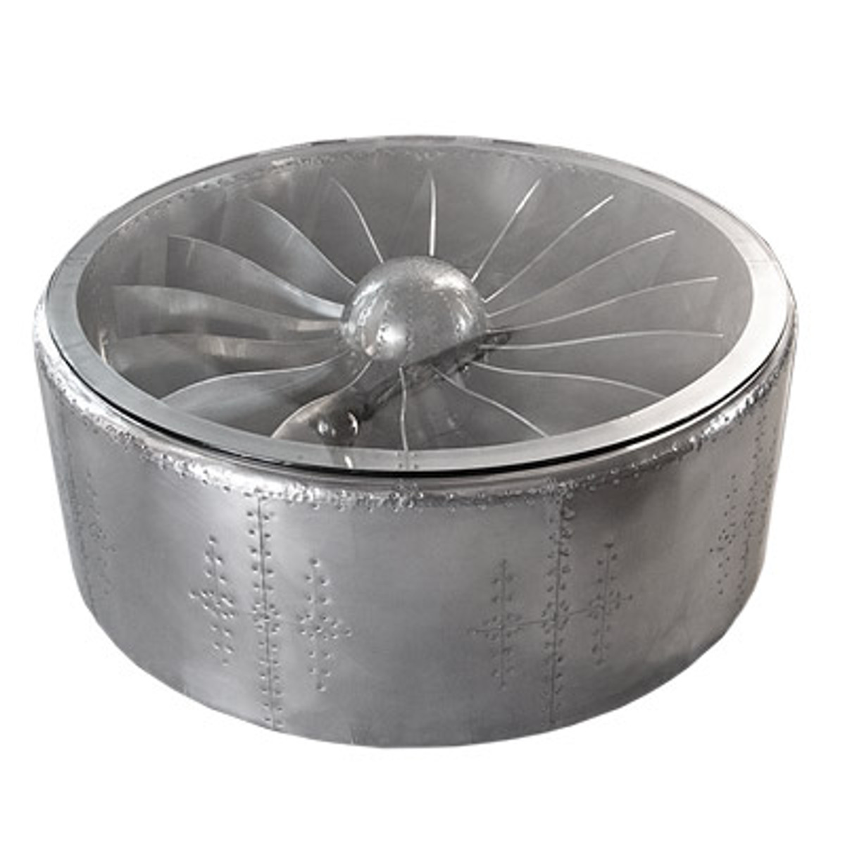 - Casa Padrino Luxury Aluminum Coffee Table Circa 128 X H 42 Cm