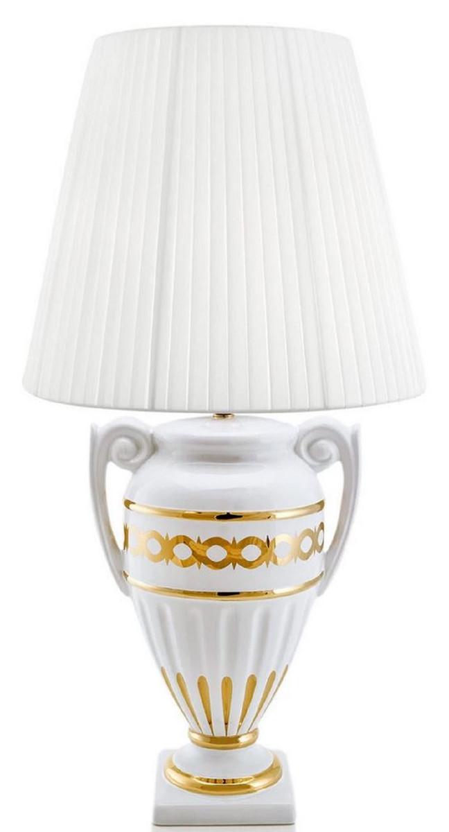 Tisch Lampe Türkis Leuchte Beleuchtung Keramik Wohn Zimmer Design Küche Büro