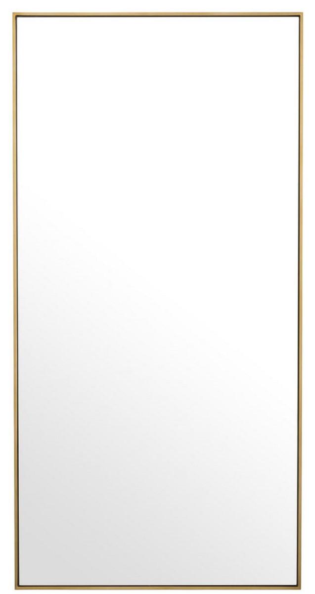 Guardaroba H 180.Casa Padrino Specchio Specchio A Parete Di Lusso Ottone 90 X H 180 Cm Specchio Per Guardaroba Specchio Per Soggiorno Qualita Di Lusso