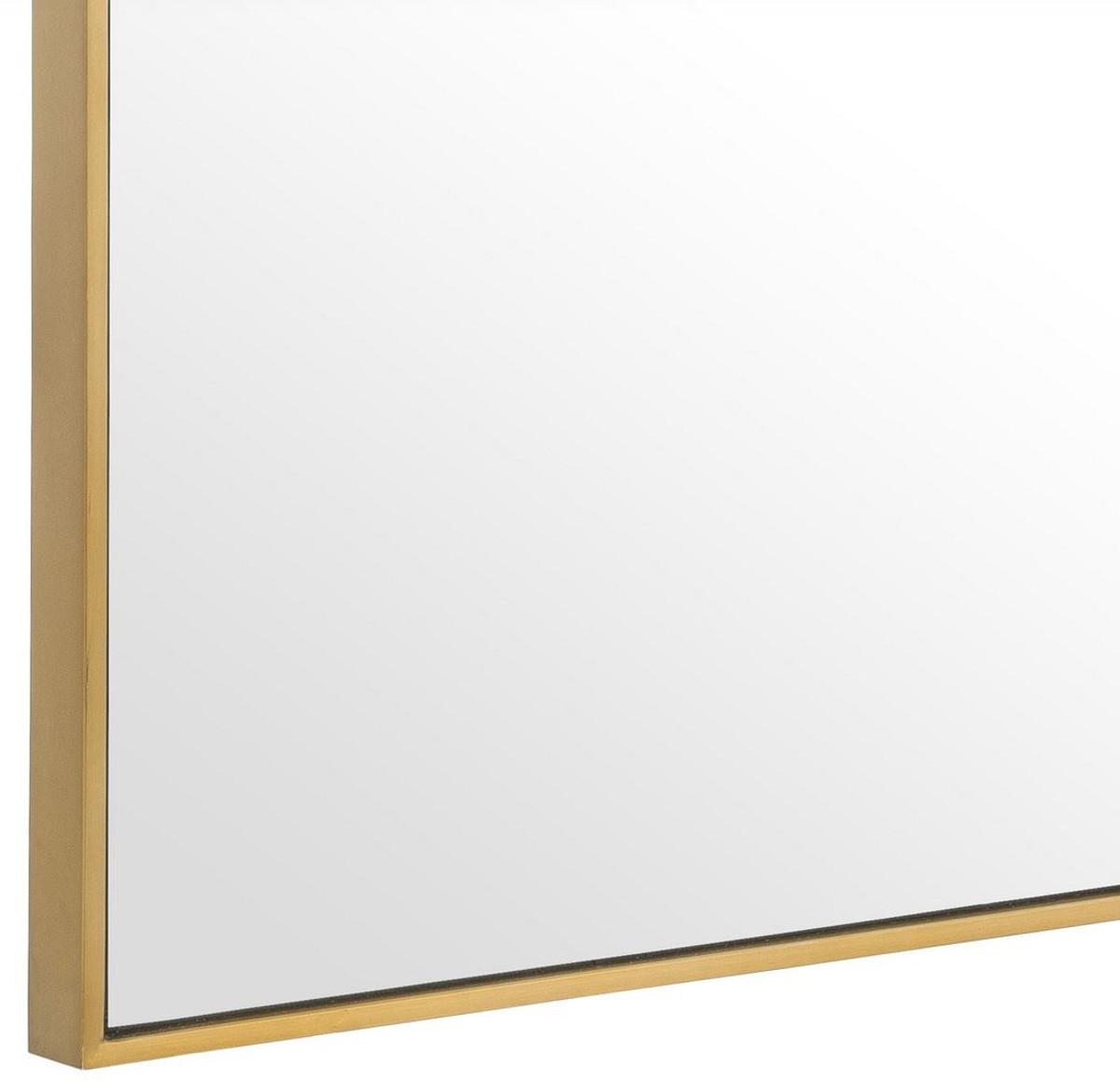 Guardaroba H 180.Casa Padrino Specchio Specchio A Parete Di Lusso Ottone 180 X H 140 Cm Specchio Per Guardaroba Specchio Per Soggiorno Qualita Di Lusso