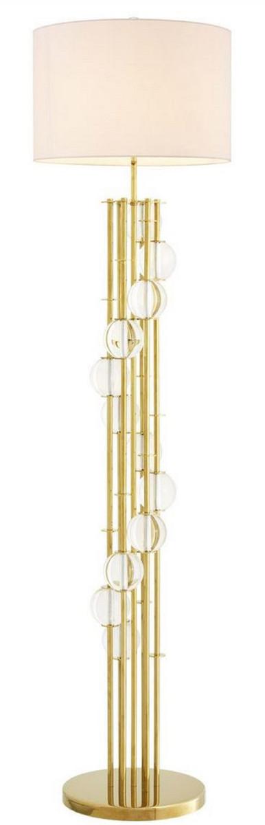 Casa Padrino Luxury Floor Lamp Gold, Living Room Lamp