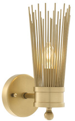 Casa Padrino luxury wall lamp antique brass 11 x 18.5 x H. 29.5 cm - Luxury Collection