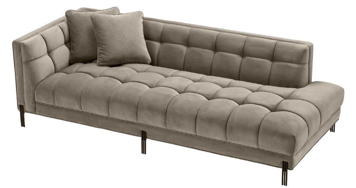 Casa Padrino Luxury Lounge Sofa Greige, Living Room Sofa