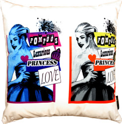 Harald Glööckler Designer Cushion Pompöös by Casa Padrino Pop Art - Art Collection -