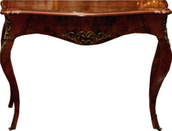 Casa Padrino Baroque console mahogany / gold 105 x 40 x h. 85 cm - Antique style furniture