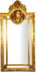 Grand Casa Padrino Baroque Mirror Gold Maria Motif - Baroque Antique style furniture