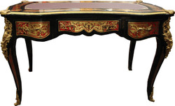 Casa Padrino Baroque Boulle Secretary in French style - 102 x 59 x H79 cm - Antique style desk