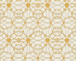 Versace Designer Baroque Non-Woven Wallpaper IV 37049-1 - Cream / Gold / Silver - Design Wallpaper - High Quality