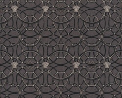 Versace Designer Baroque Non-Woven Wallpaper IV 37049-4 - Black / Anthracite / Silver - Design Wallpaper - High Quality