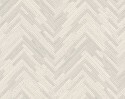 Versace Designer Baroque Non-Woven Wallpaper IV 37051-1 Cream / Gray - Wallpaper with Wood Structure - High Quality