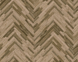Versace Designer Baroque Non-Woven Wallpaper IV 37051-2 Beige / Brown - Wallpaper with Wood Structure - High Quality