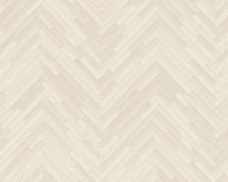 Versace Designer Baroque Non-Woven Wallpaper IV 37051-5 Cream / Beige - Wallpaper with Wood Structure - High Quality