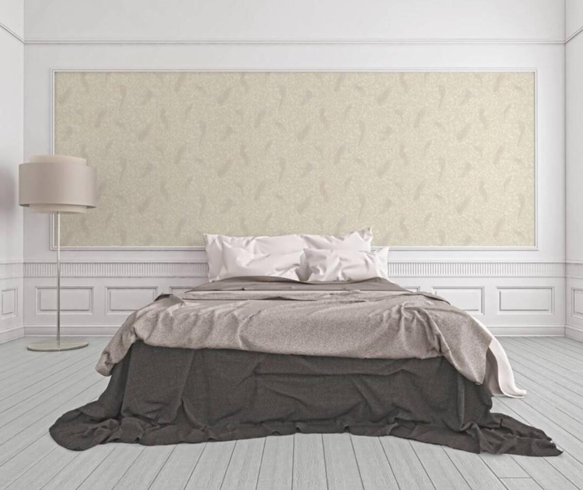 Versace Designer Barock Vliestapete IV 37053-5 - Creme / Beige - Design Tapete - Hochwertige Qualität 2