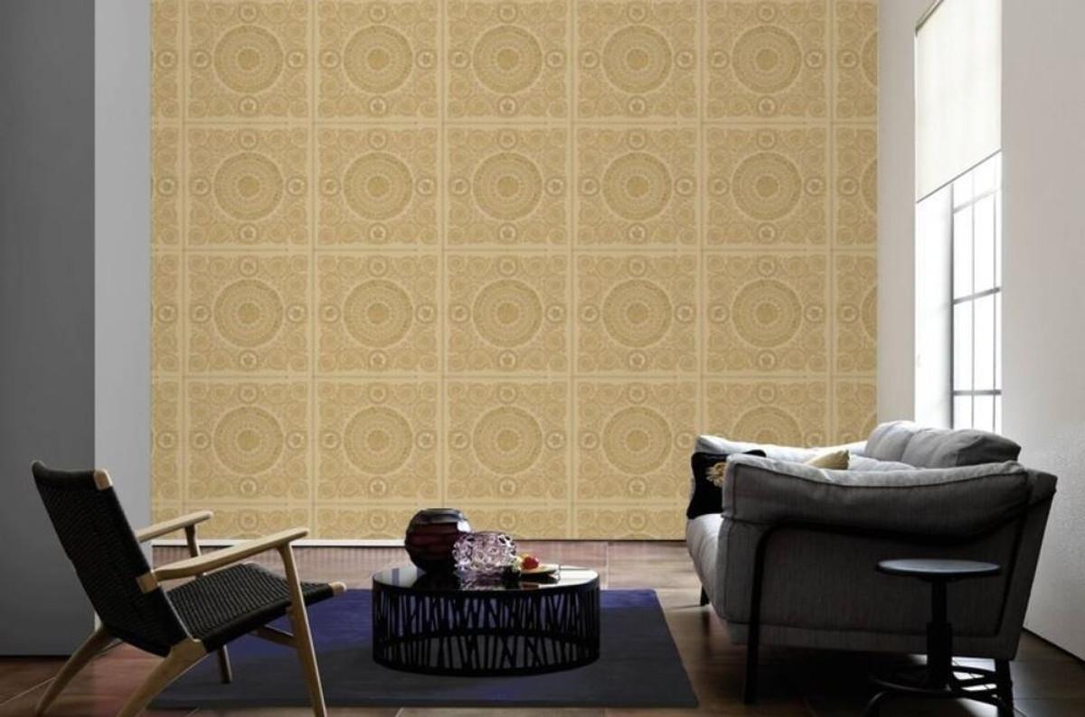 Versace Designer Barock Vliestapete IV 37055-4 - Beige / Gold - Design Tapete - Hochwertige Qualität 2