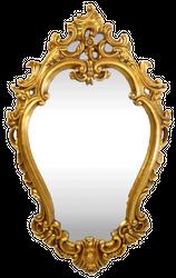 Casa Padrino Baroque Wall Mirror Gold 65 x H. 105 cm - Magnificent Mirror in Baroque Style - Baroque Furniture