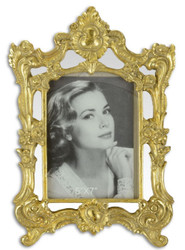Casa Padrino Baroque Picture Frame Gold 21.4 x H. 31.2 cm - Magnificent Picture Frame in Baroque Style