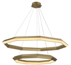 Casa Padrino luxury LED chandelier antique brass Ø 120 x H. 245 cm - Luxury Quality