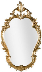 Casa Padrino Luxury Baroque Wall Mirror Gold 58 x 4 x H. 98 cm - Magnificent Baroque Style Mirror - Baroque Furniture