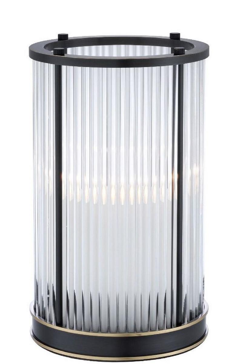 Casa Padrino Luxus Kerzenleuchter Bronze / Messing Ø 16,5 x H. 27,5 cm - Deko Accessoires - Luxus Qualität 1