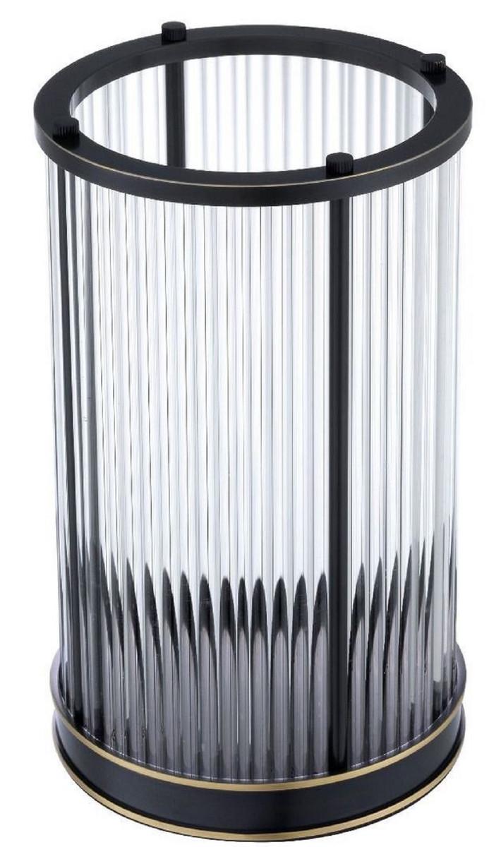 Casa Padrino Luxus Kerzenleuchter Bronze / Messing Ø 16,5 x H. 27,5 cm - Deko Accessoires - Luxus Qualität 3