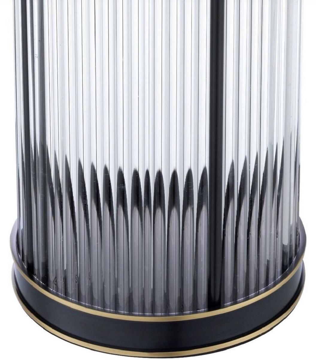 Casa Padrino Luxus Kerzenleuchter Bronze / Messing Ø 16,5 x H. 27,5 cm - Deko Accessoires - Luxus Qualität 5