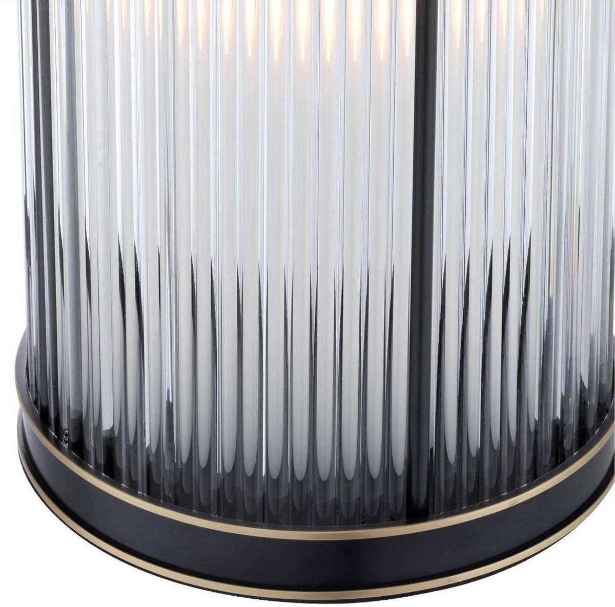 Casa Padrino Luxus Kerzenleuchter Bronze / Messing Ø 20 x H. 32 cm - Deko Accessoires - Luxus Qualität 5