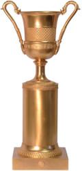 Casa Padrino baroque bronze decorative vase with base bronze 21.4 x 14.5 x H. 41.9 cm - Trophy - Living Room Decoration