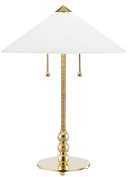 Casa Padrino luxury table lamp antique brass / white Ø 45.7 x H. 61 cm - Table light with round glass lampshade
